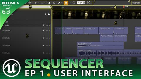 User Interface Overview - #1 Unreal Engine 4 Sequencer Course