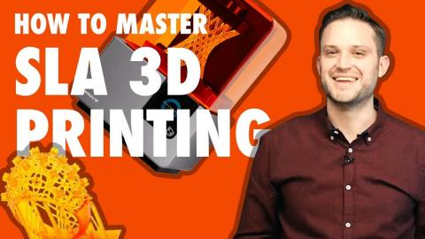 SLA 3D Printing: How to print highly detailed parts (STRENGTH TEST)