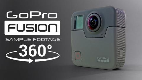 GoPro Fusion — 5.2K 360° Sample Footage