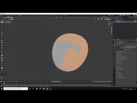 Tips & Tricks for Blender 2.8 | Create Polygons from Bezier Curve