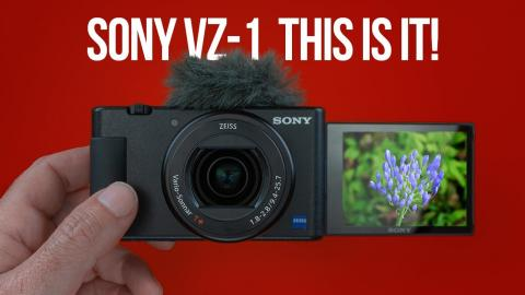 Sony ZV-1 – Simply Amazing!