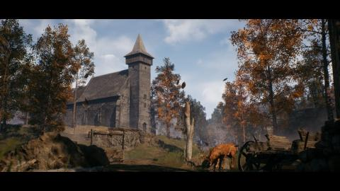Abandoned Church (Unreal Engine 4)
