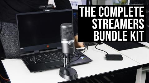 AVerMedia BO311 Review -  the complete STREAMERS Kit!