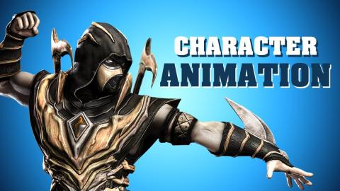 Animate and move a 3D character in Unreal Engine 5