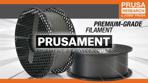 Introducing Prusament - the best filament that you can inspect yourself