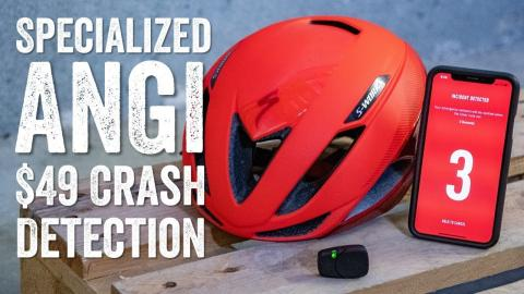 Hands-on: Specialized ANGi $49 Crash Detection Pod