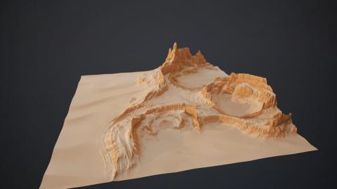 Gaea Tutorial | Strange Desert Formations breakdown