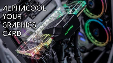 Alphacool Eiswolf 2 AIO GPU Cooler Review with LEO