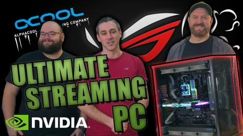 Building The ULTIMATE Custom Watercooled Streaming PC!