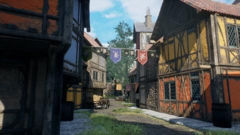 Medieval Town (Speed Level Design / Unreal Engine 4)