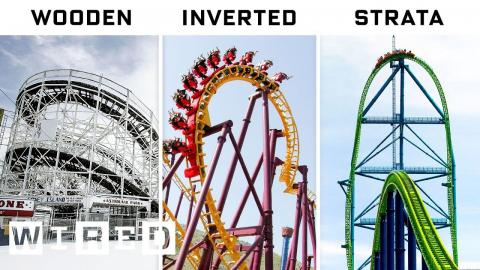 Engineer Explains Every Roller Coaster For Every Thrill | WIRED