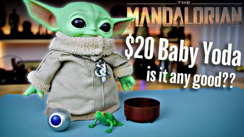 $20 Baby Yoda from Costco is it any good? The Mandalorian | The Child Review