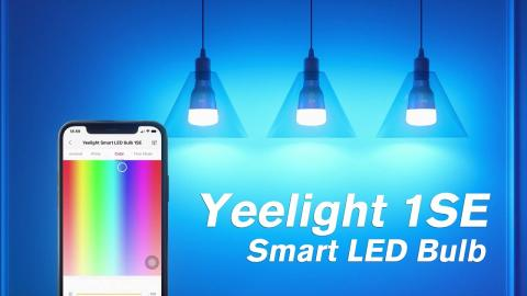 How to Decor Your House with Yeelight 1SE Smart LED Bulb