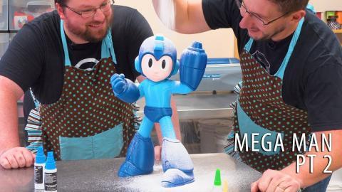 3D Printing Mega Man - Bakery Assembly Process ENGAGE (w/ Chaos Coretech)