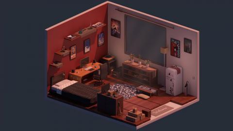 Timelapse | Comfy Room