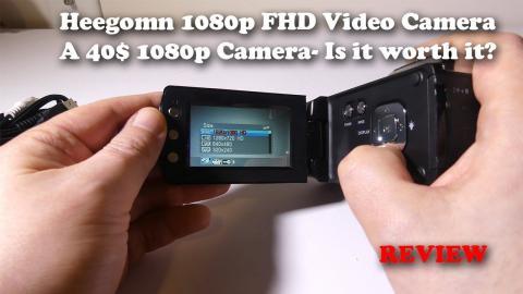Heegomn Full HD 1080p Video Camera - 40$ Is It Worth It?