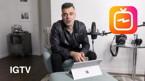 New Instagram TV(IGTV) Lets you upload 10 minute videos!