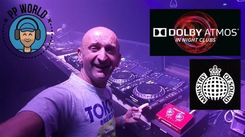 25000 Watts de Dolby Atmos dans une discothèque culte ! (Ministry of Sound)