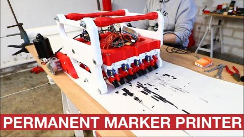 PERMANENT MARKER PRINTER - FIRST PRINTS