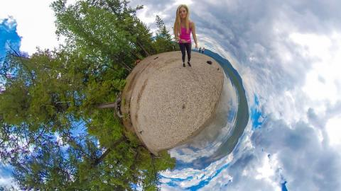 How to shoot TINY PLANET videos!
