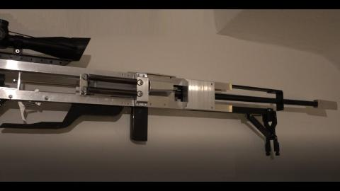 """DIY super accurate BB sniper aka """"The 2 cent challenge"""""""
