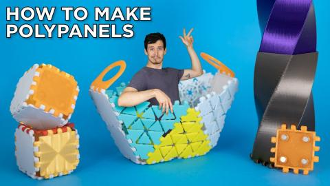 Making Custom Polypanels is Easy! Tinkercad and Fusion 360 Tutorial