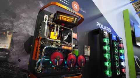 EPIC Custom Water Cooled Gaming PC Builds - In Win Booth Computex 2017