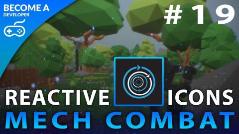 Reactive Attack Icons - #19 Creating A Mech Combat Game with Unreal Engine 4