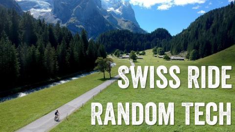 Swiss Ride Randoms: Edge 1030 routing, drone shots, gear line-up!