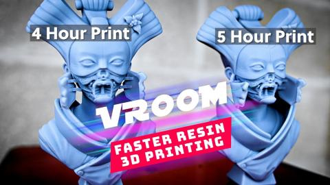 Vroom - Faster Resin 3D Printing - How To