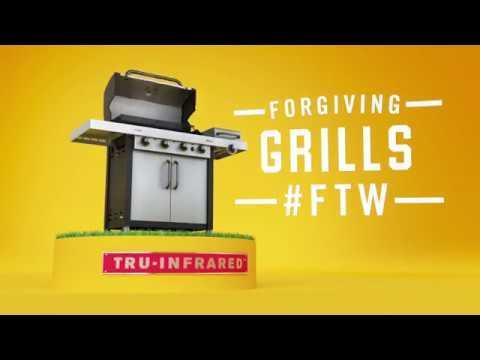 Char-Broil TRU-Infrared Grills: Gravity Video :15