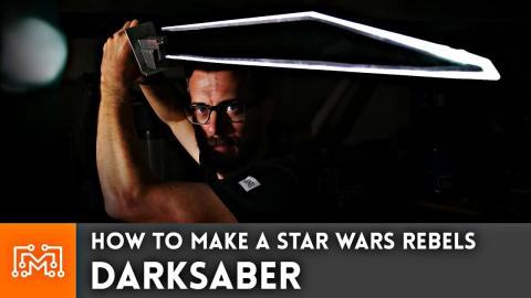 How to Make a Darksaber from Star Wars (Rebels & Clone Wars)
