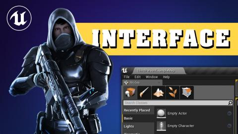 Learning the user interface #1- Unreal Engine 4 Free Course