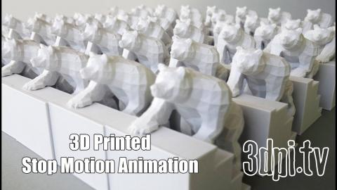 3D Printed Stop Motion Animation