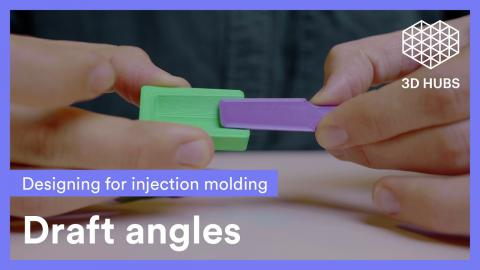 Draft Angles - What is a D.A. in Injection Molding - How to Design them