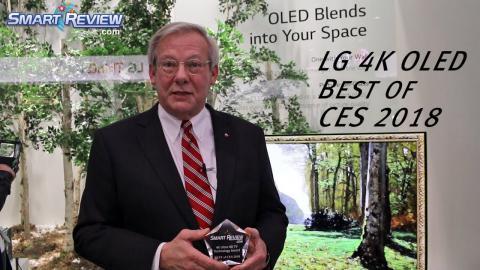 CES 2018 | LG OLED 4K TVs | Best of CES | SmartReview.com Award Winner