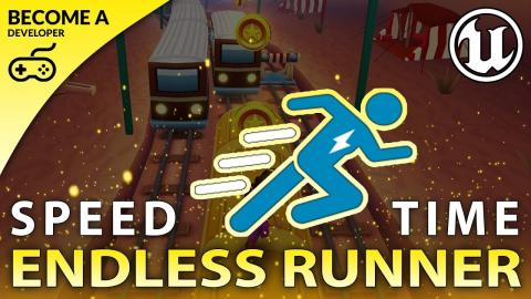 Increasing Speed - #7 Creating A MOBILE Endless Runner Unreal Engine 4