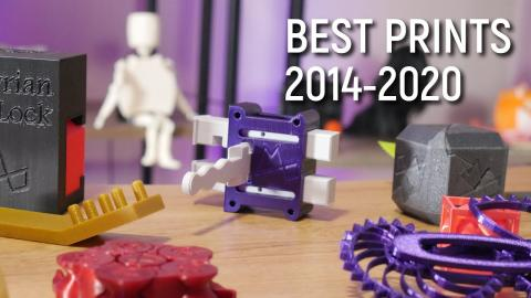 My Favorite Designs from 6 Years of 3D Printing!