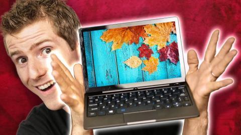 The SMALLEST No-Compromises Laptop