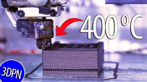 High Temp 3D Printing FOR NASA with Vision Miner
