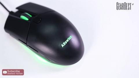 Alfawise V10 A3050 USB Wired Gaming Mouse Gearbest
