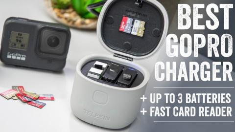 $19 GoPro 3-Battery Charging Pod + MicroSD Card Reader Review