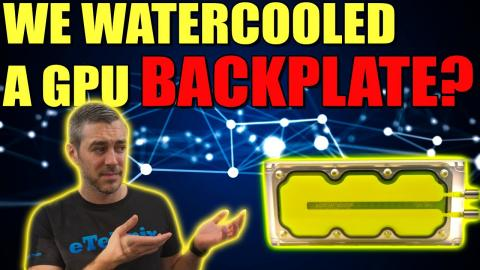 RTX3080+Waterblock+Backplate Cooler = Very Interesting!