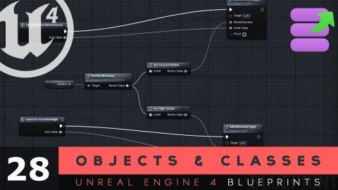 Object & Class Variable Types - #28 Unreal Engine 4 Blueprints Tutorial Series