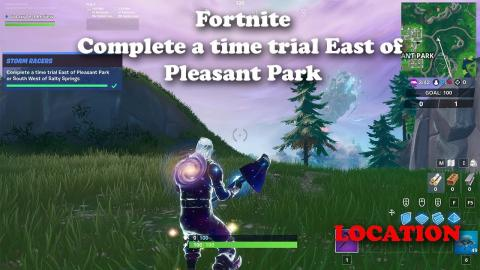 Fortnite - Complete a time trial East of Pleasant Park LOCATION