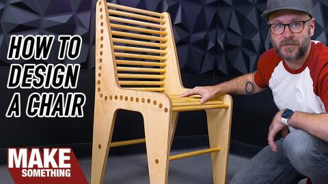 Learn to Design and Prototype a Chair with Only a Few Tools | Woodworking Project