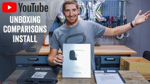 100,000 Subscriber YouTube Award Unboxing! How it works, shipping/timeline details, and more!