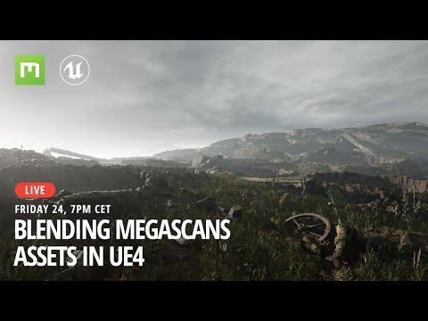 Blending Megascans Assets in UE4
