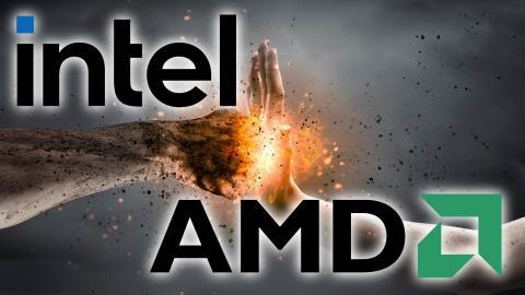 Leo & Luke 9: INTEL Attack AMD in Media Briefing