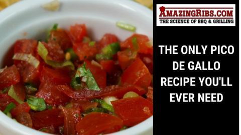 The Only Pico de Gallo Recipe You'll Ever Need.